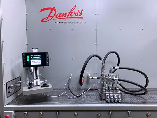 Kraft-Danfoss PVG Test Stand