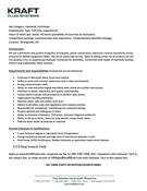 Administrative Assistant position description - Kraft Fluid Systems